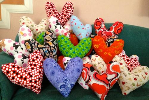 Comfort Heart Pillows