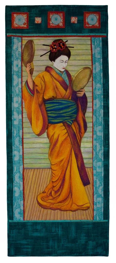 """Geisha, 24""""x 60"""", 2012"""