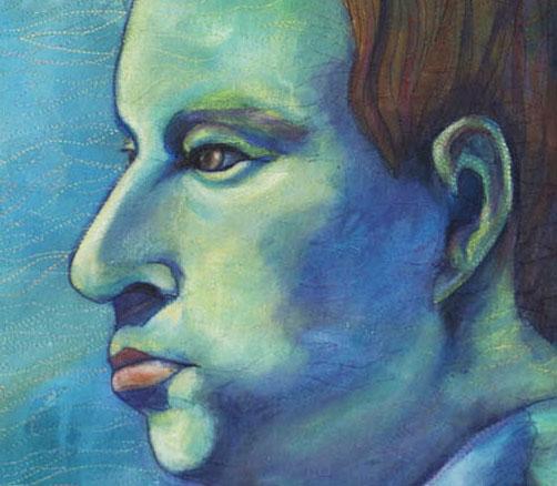 Portrait of Andrew detail
