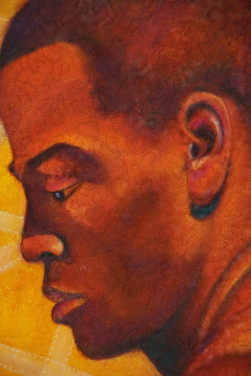 Portrait of Eltony detail