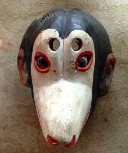 Monkey Face Mask, Folk Art Museum