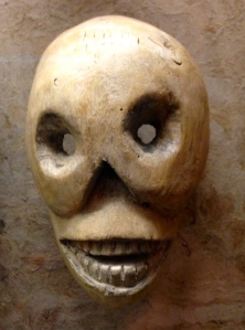 Skeleton Face Mask, Folk Art Museum Collection