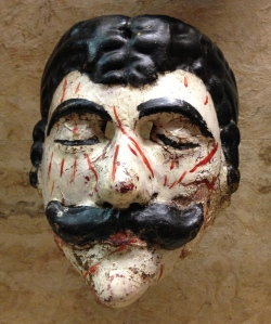 Dead Man Mask, Folk Art Museum