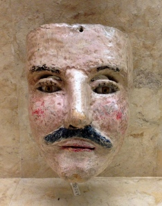 Man Face Mask, Santa Fe Folk Art Museum