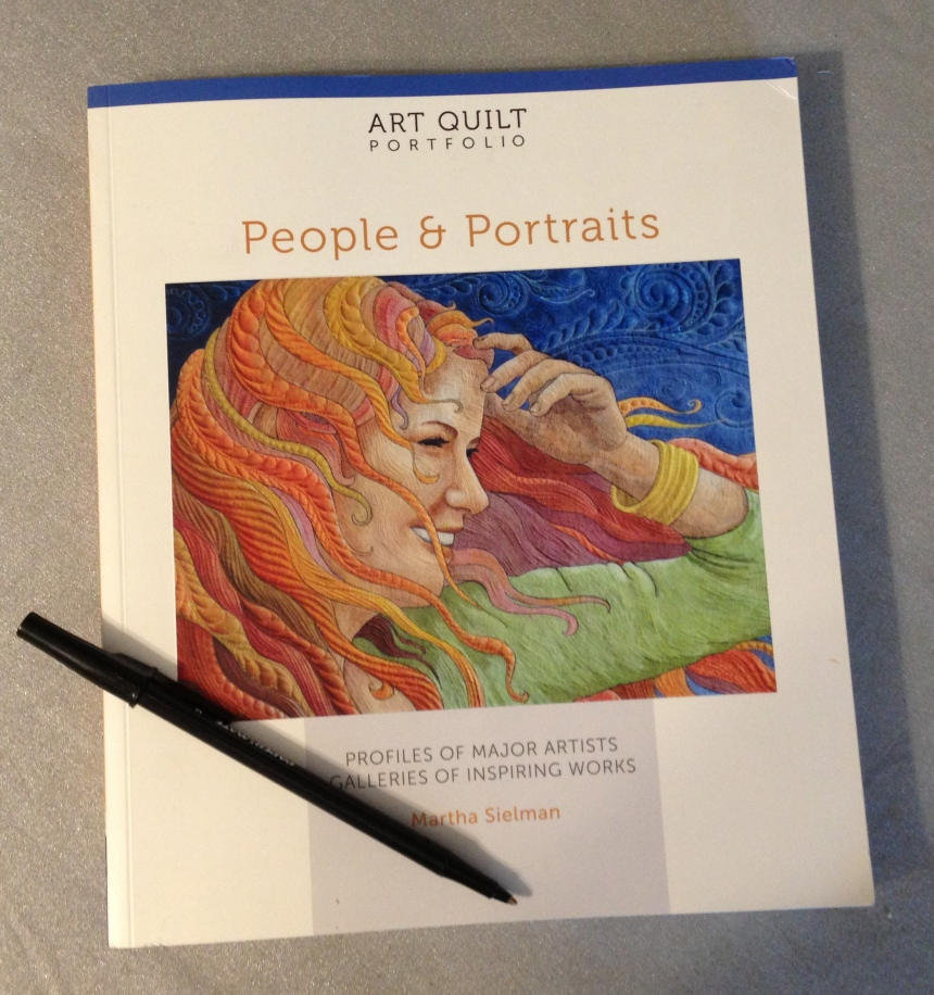 Art Quilt Portfolio:  People and Portraits, by Martha Sielman
