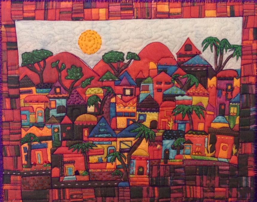 "Postcard from Guatemala (mini reproduction) 13"" x 10"""