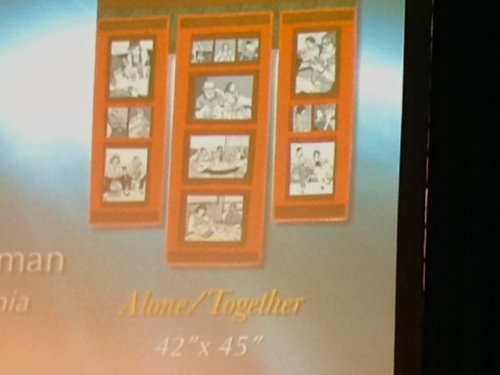 Alone/Together on Giant Screen