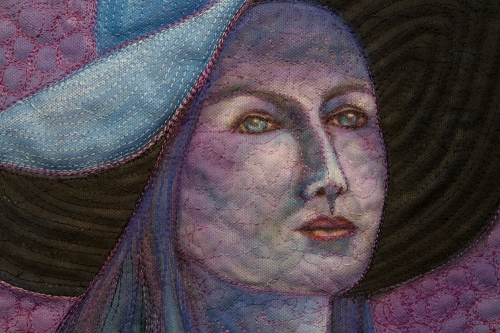 Under a Violet Moon, detail, 2014